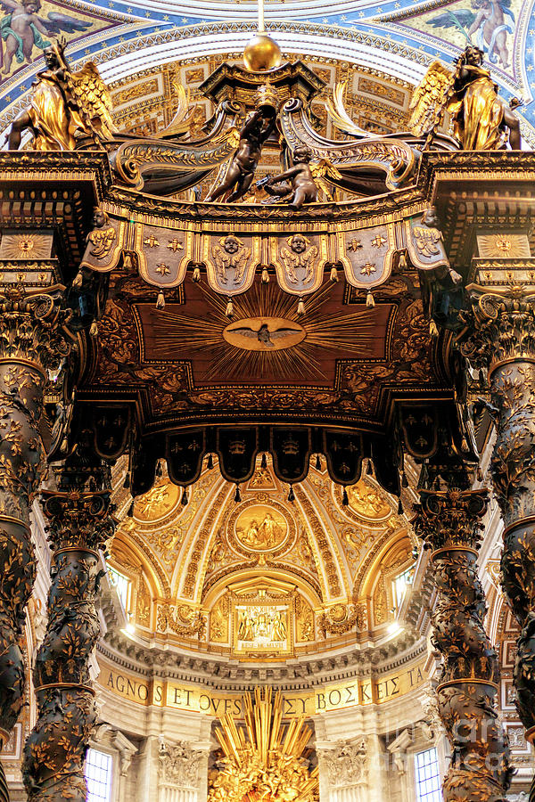 To the Chair of St. Peter at Saint Peter's Basilica in Vatican City by John Rizzuto
