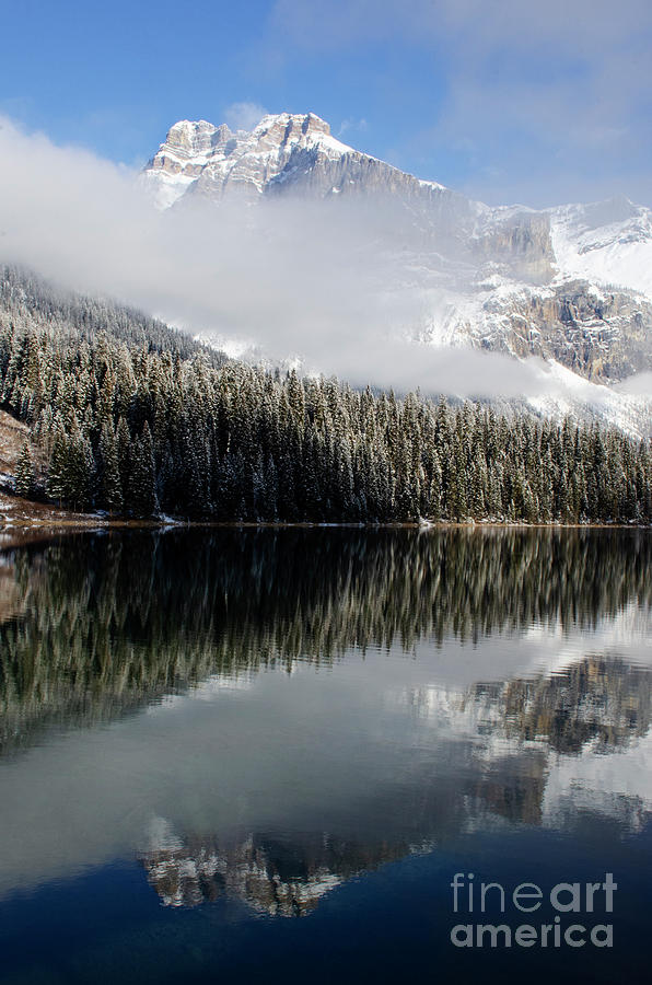 Emerald Lake Photograph - To The Wild Country Canadian Rocky Mountains 14 by Bob Christopher