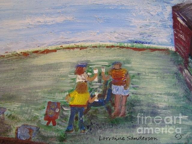 Toast By The Lake by Lorraine Sanderson