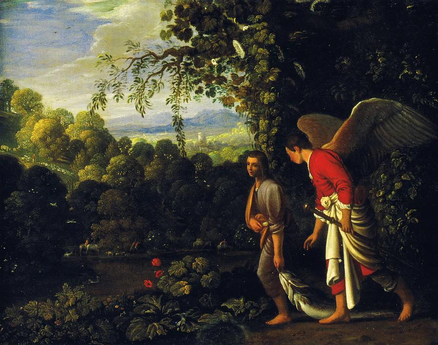 Tobias and the Angel by Adam Elsheimer