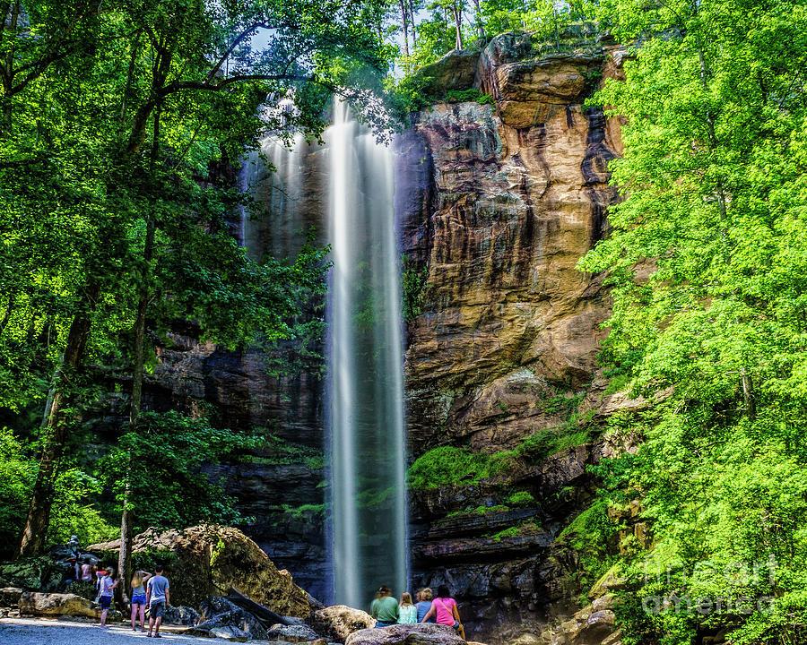 Toccoa Falls Georgia by Nick Zelinsky