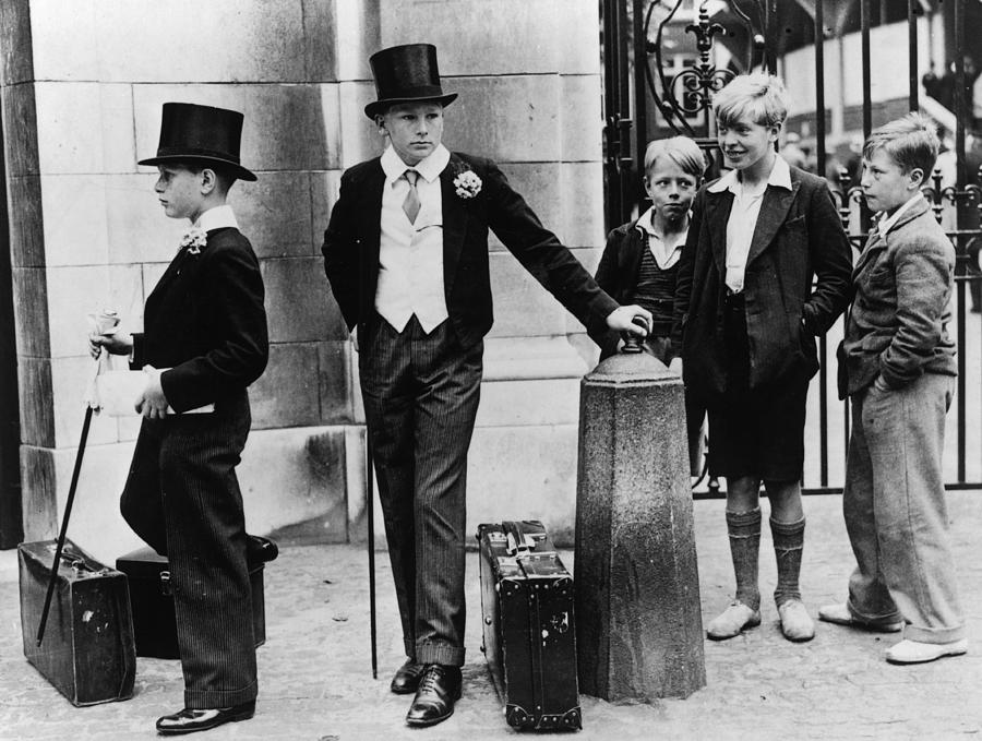 Education Photograph - Toffs And Toughs by Jimmy Sime