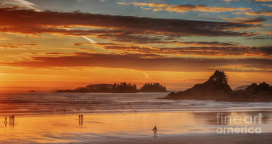 Tofino Beach Sunset 1 by Mauro Celotti