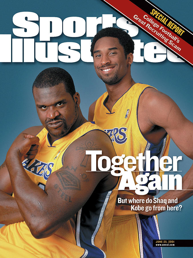 Together Again But Where Do Shaq And Kobe Go From Here Sports Illustrated Cover Photograph by Sports Illustrated