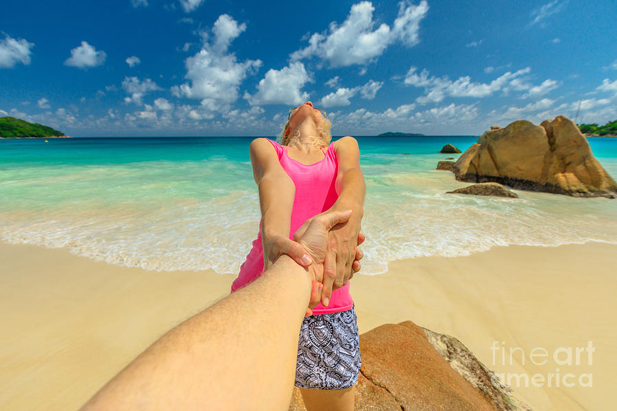 Together at Seychelles by Benny Marty