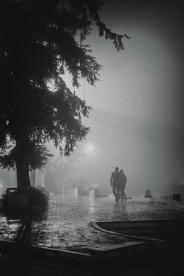 Together in fog, Sa Pa, 2014 by Hitendra SINKAR