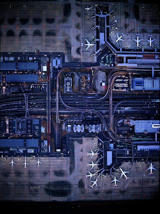 Tokyo International Airporthaneda Photograph by Michael H