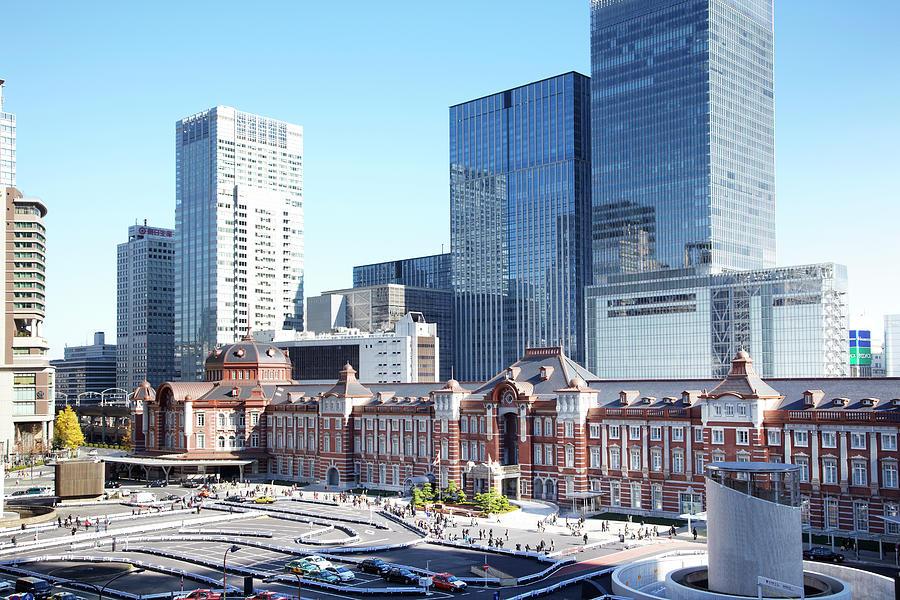 Tokyo Station Photograph by Yuji Kotani