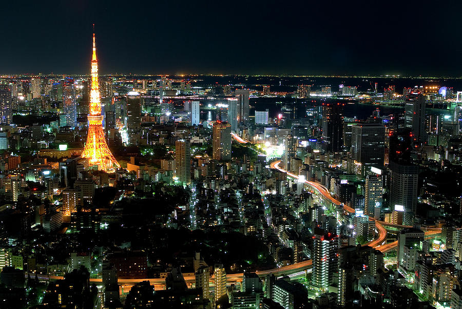 Tokyo Tower Photograph by Andreas Jensen