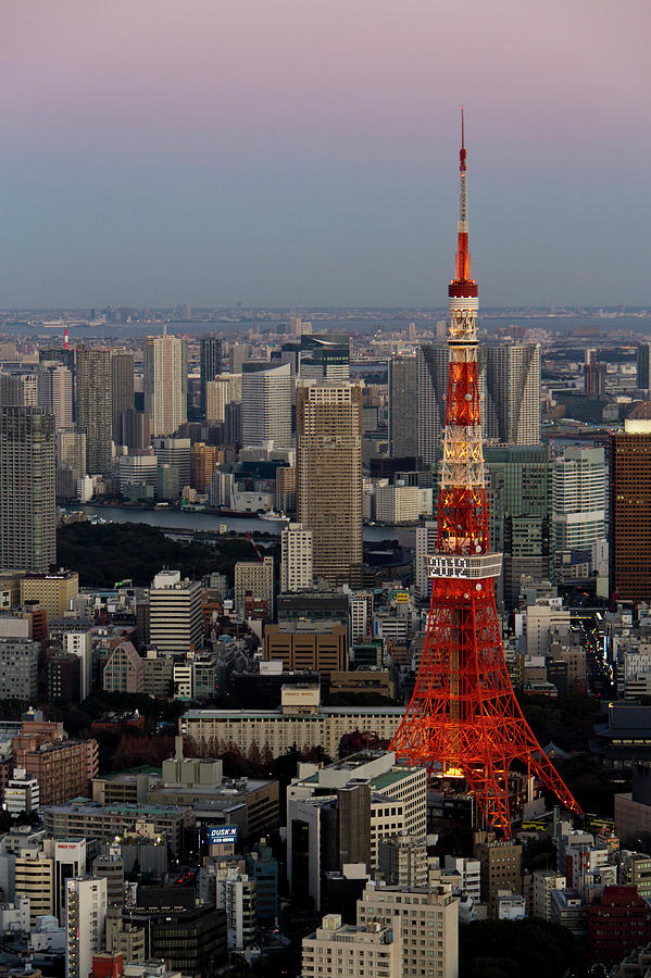Tokyo Tower At Dusk Photograph by Lluís Vinagre - World Photography