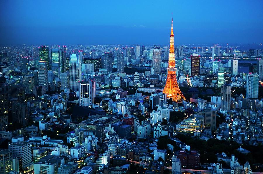 Tokyo Tower Photograph by Kokouu