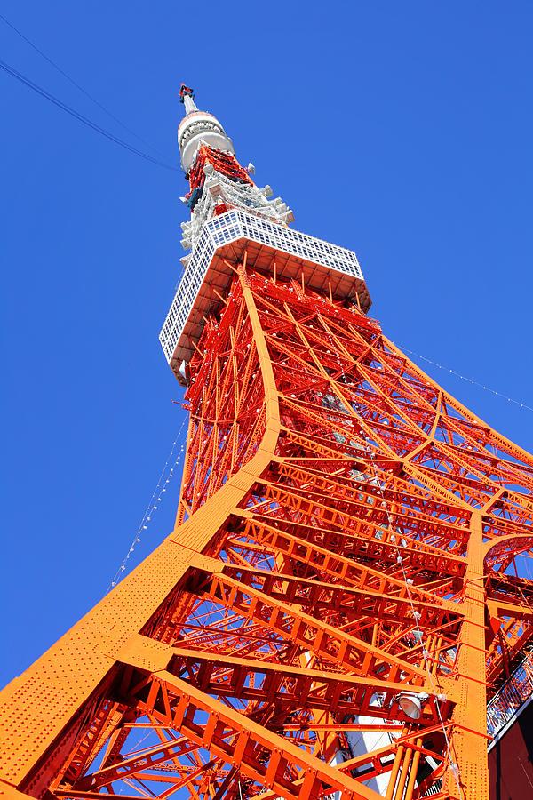 Tokyo Tower Photograph by Ngkaki