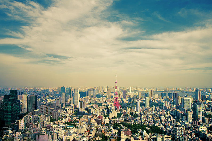 Tokyo Tower Photograph by Russell Morales