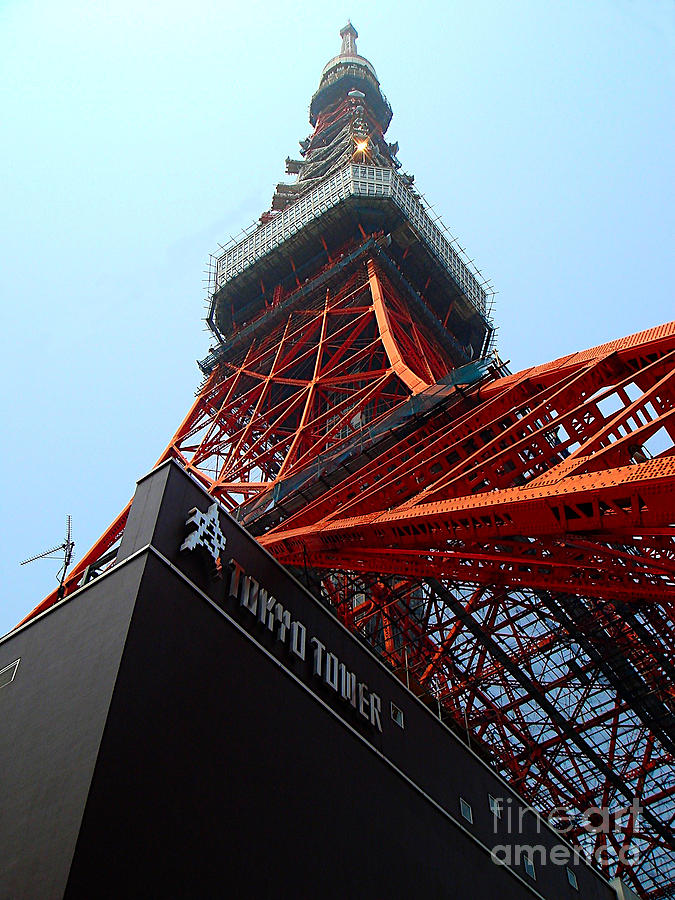Tokyo Tower by Yvonne Johnstone