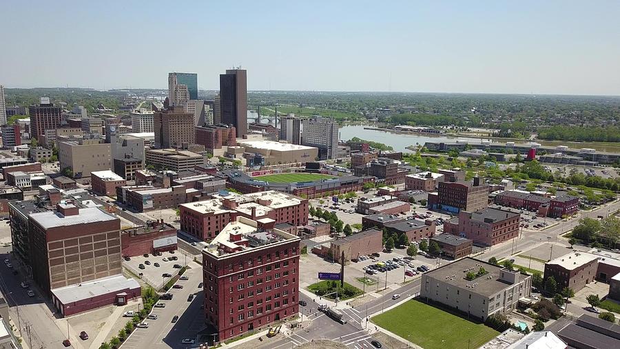 Toledo, Ohio Skyline Photograph