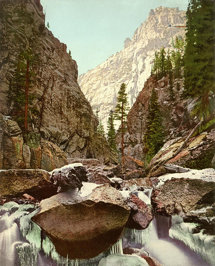 Toltec Gorge by Detroit Photographic Company
