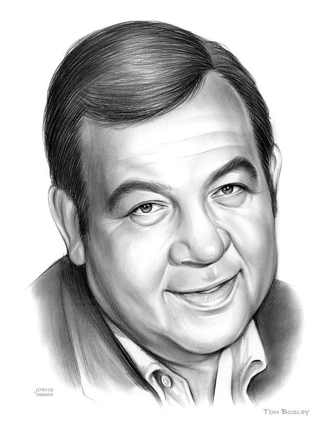 Tom Bosley Drawing