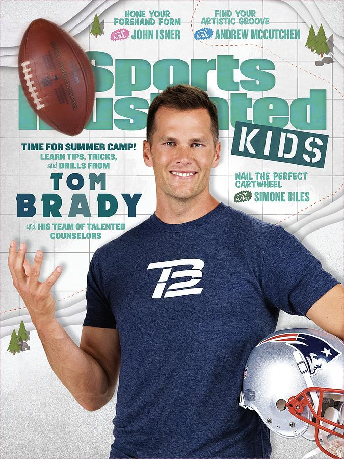 Tom Brady Sports Illustrated Cover Photograph by Sports Illustrated