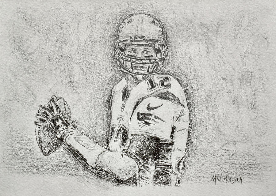 Tom Brady by Michael Morgan