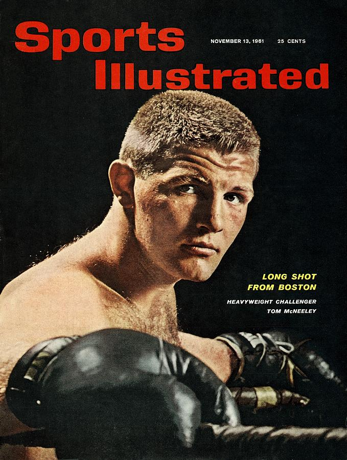 Tom Mcneeley, Heavyweight Boxing Sports Illustrated Cover Photograph by Sports Illustrated