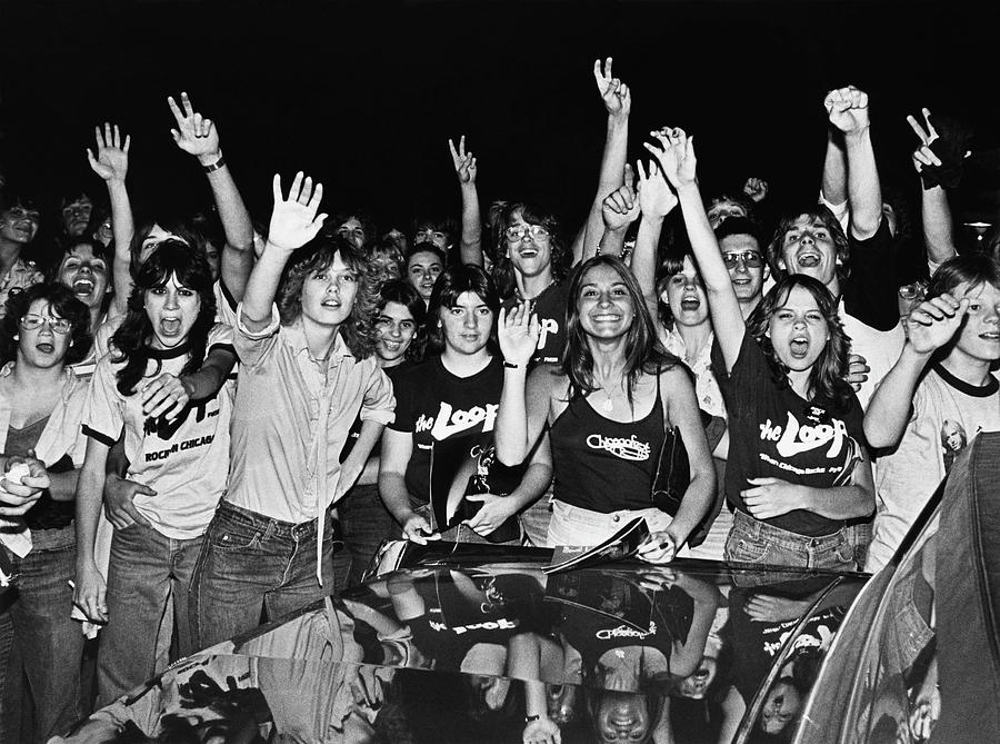Tom Petty Fans Photograph by George Rose