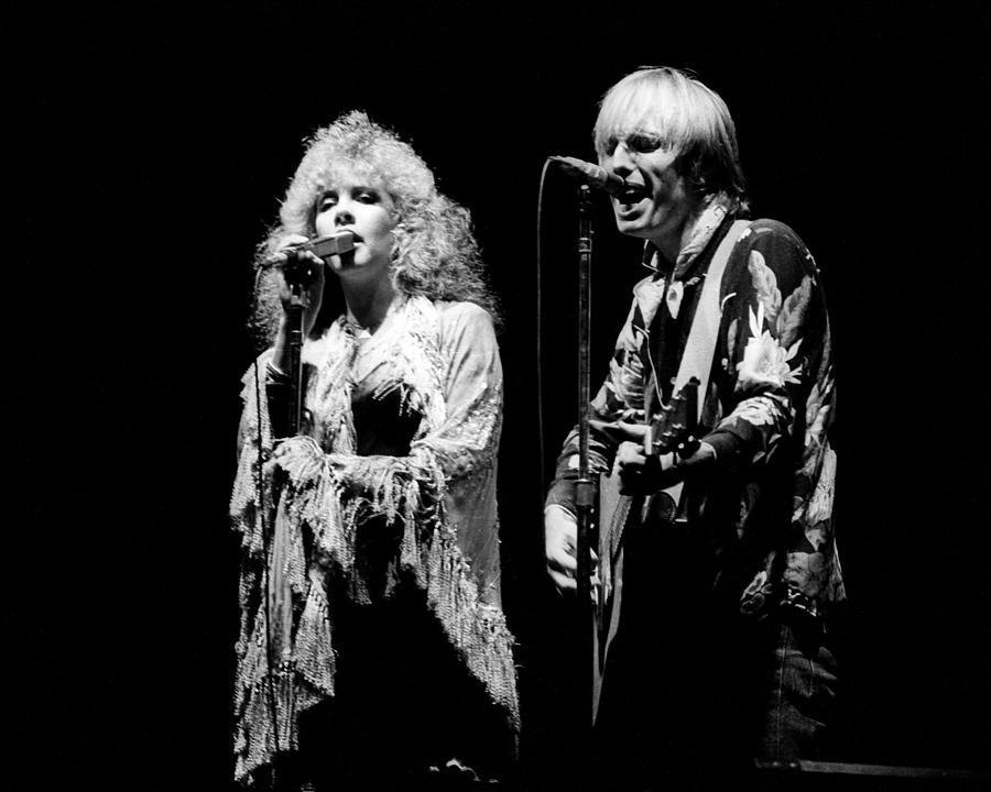1980-1989 Photograph - Tom Petty Live by Larry Hulst