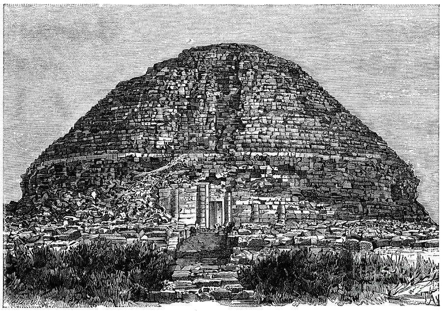 Tomb Of The Christian Lady, Kolea Drawing by Print Collector