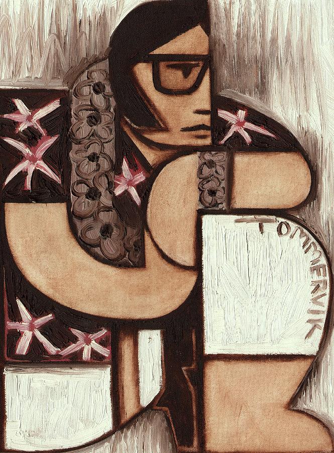 Hawaii Painting - Tommervik Elvis in Hawaii Art Print by Tommervik