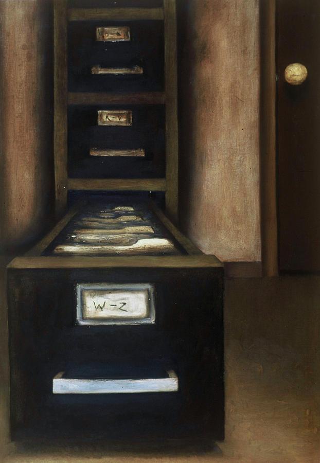 Tommervik Old Filing Cabinet Art Print by Tommervik