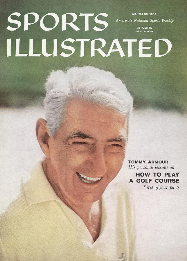 Tommy Armour, Golf Sports Illustrated Cover Photograph by Sports Illustrated