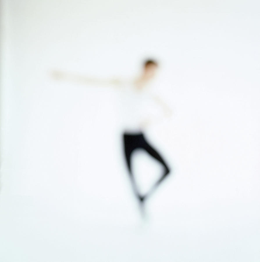 Toned View Of A Person Performing Ballet Photograph by George Doyle