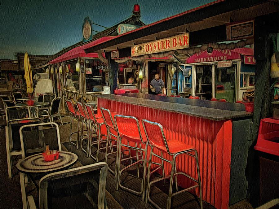 Tonys Oyster Bar by Thom Zehrfeld