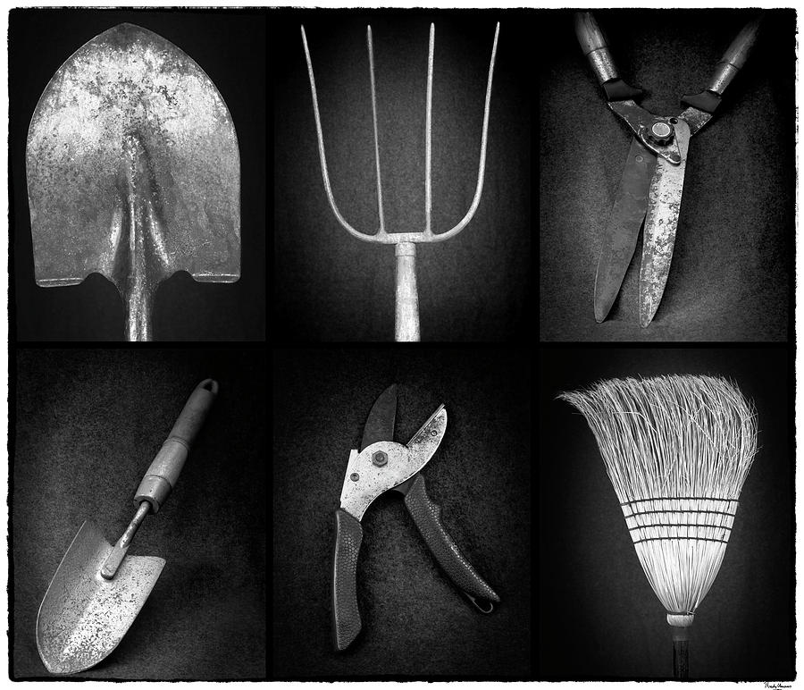 Tools of the trade BW -2 by Rudy Umans