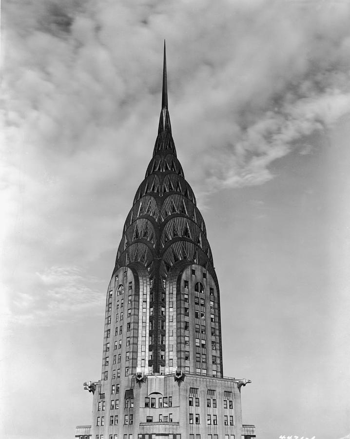Top Of The Chrysler Building Photograph by Frederic Lewis