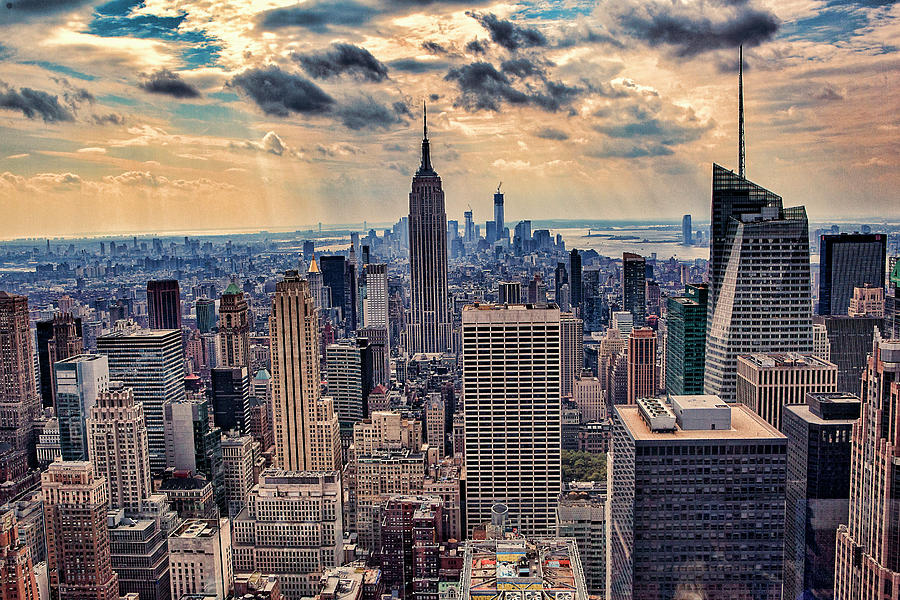 Top of the Rock - New York by Anna Yanev