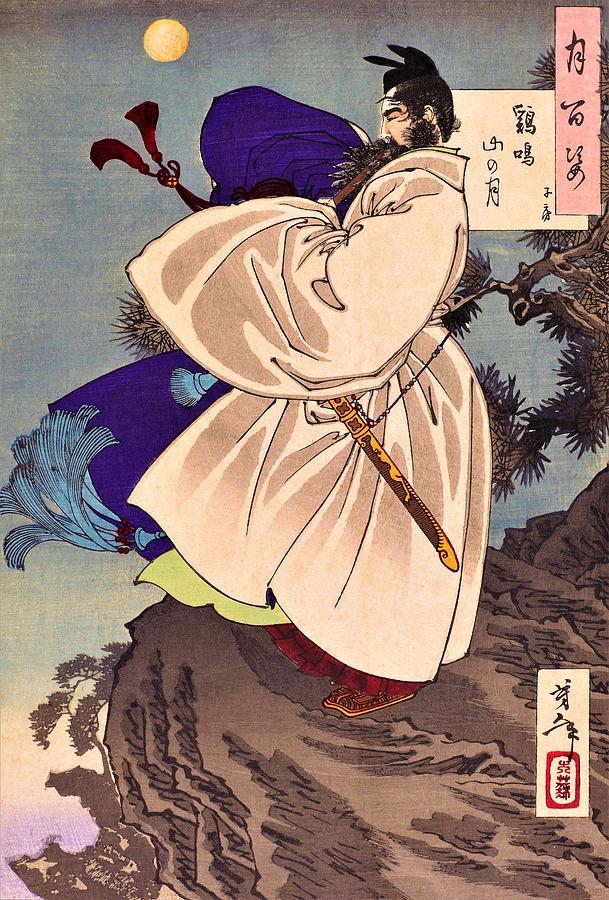 Yoshitoshi Painting - Top Quality Art - Choryo by Tsukioka Yoshitoshi