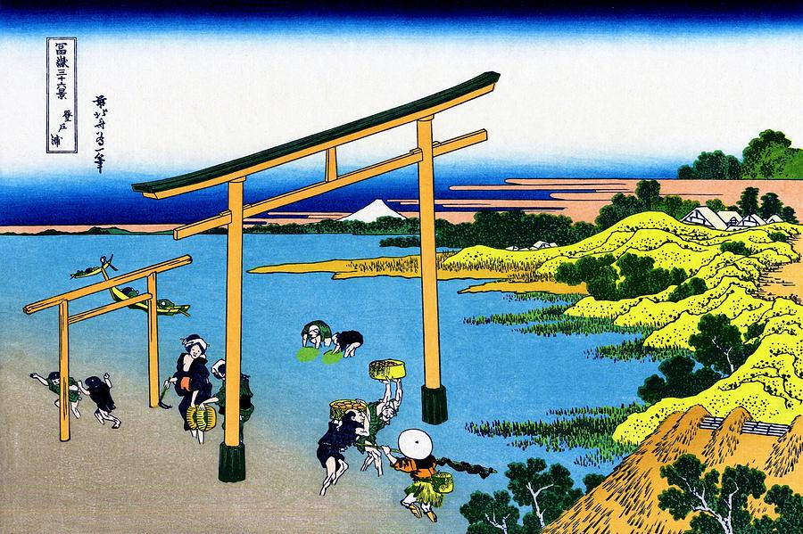 Mount Fuji Painting - Top Quality Art - Mt,fuji36view-nobotonoura by Katsushika Hokusai