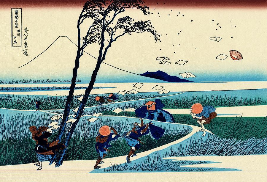 Katsushika Hokusai Painting - Top Quality Art - Mt,fuji36view-sunshu Ejiri by Katsushika Hokusai