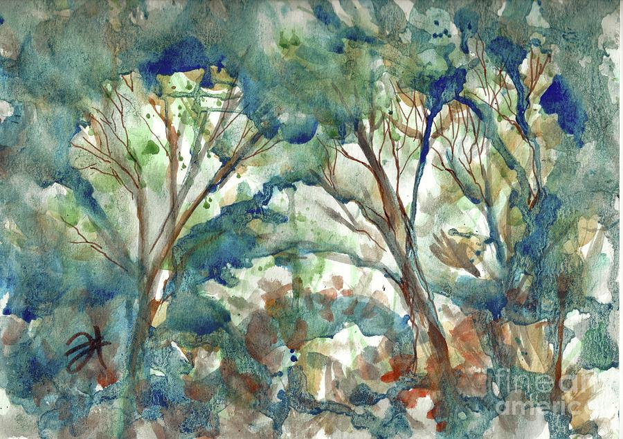 Top Tree Study by Francelle Theriot
