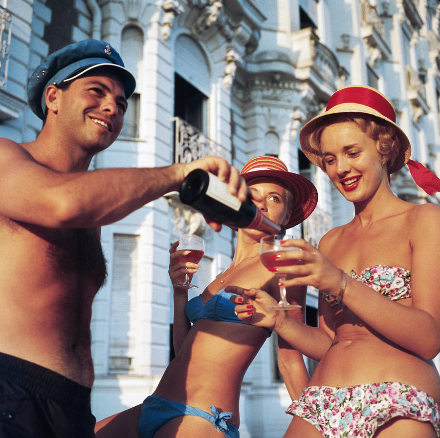 Top Up Photograph by Slim Aarons