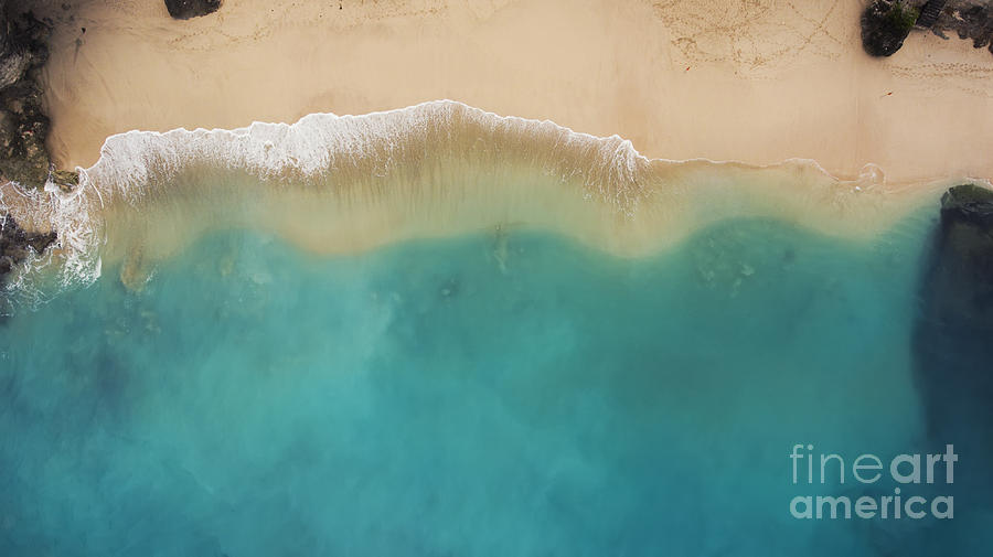Beauty Photograph - Top View Aerial Photo From Flying Drone by Gaudilab
