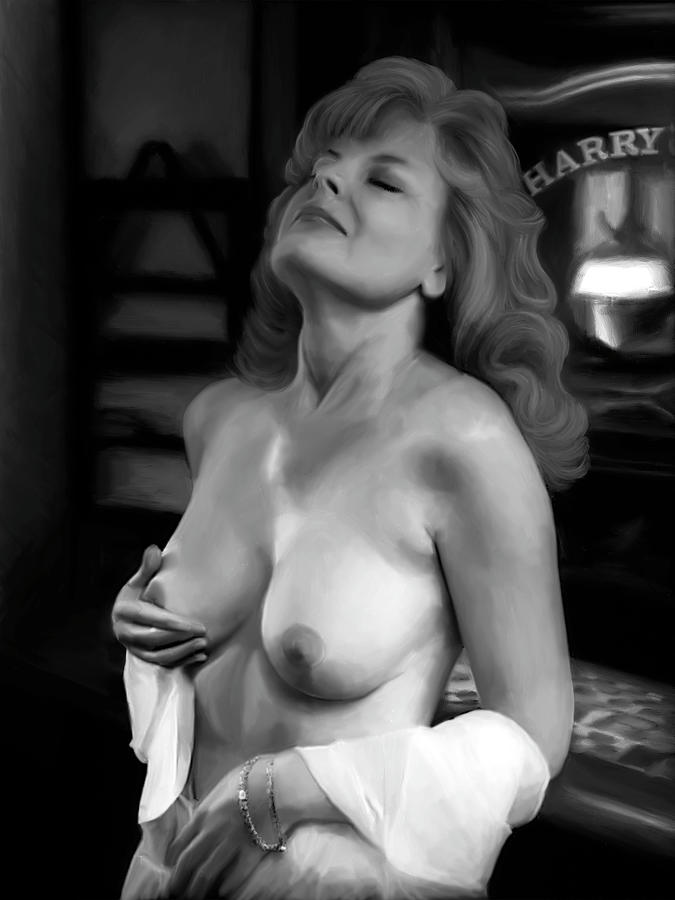 Amazing Topless Digital Art