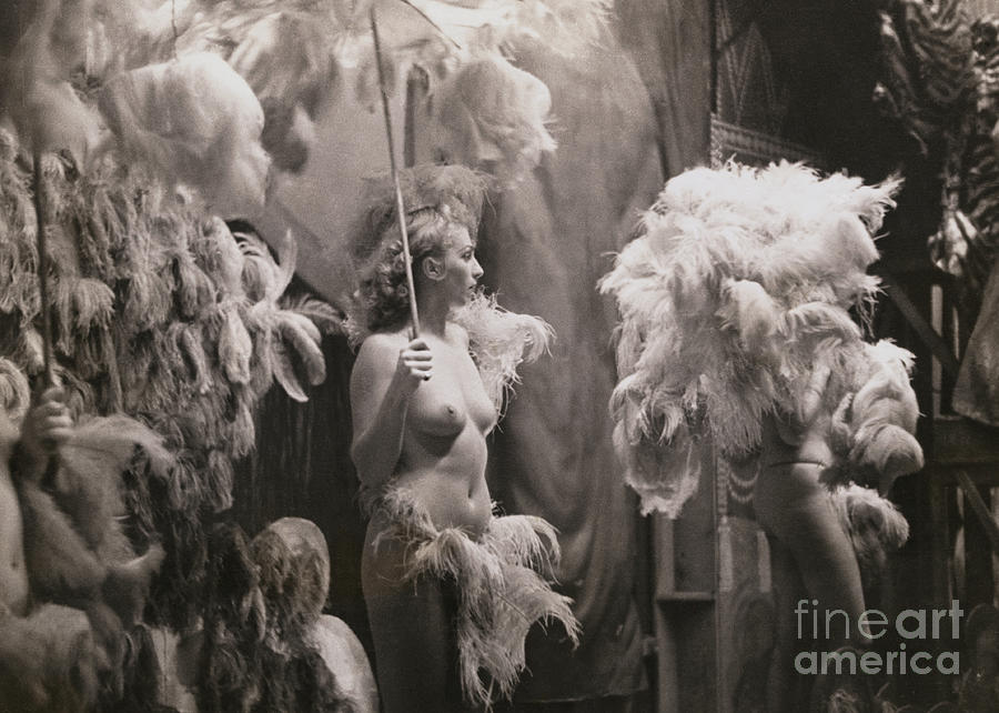 Topless Dancer Performing Photograph by Bettmann