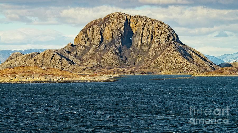 Torghatten Mountain Norway by Martyn Arnold