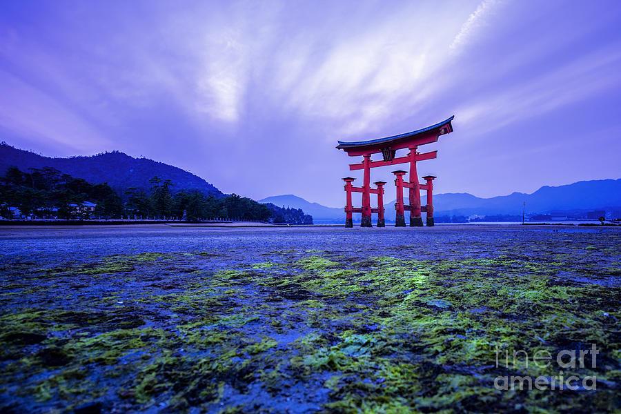 Symbol Photograph - Tori In Hiroshima Japan by Sahachatz