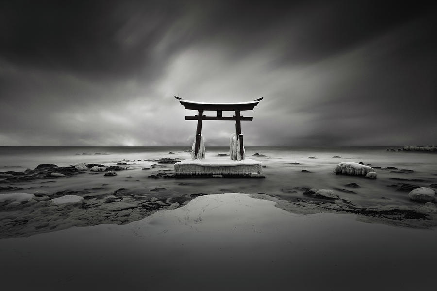 Torii Gate II by Francis Ansing