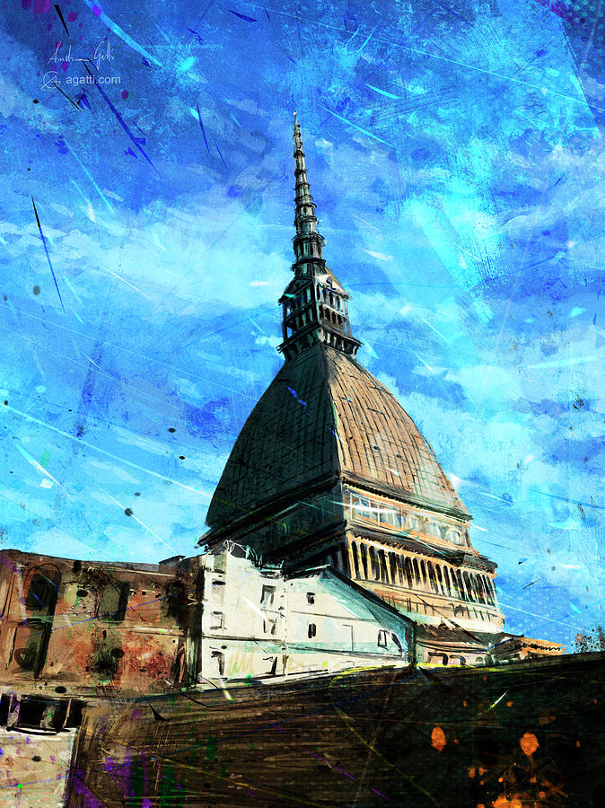 Torino Mole Digital Art