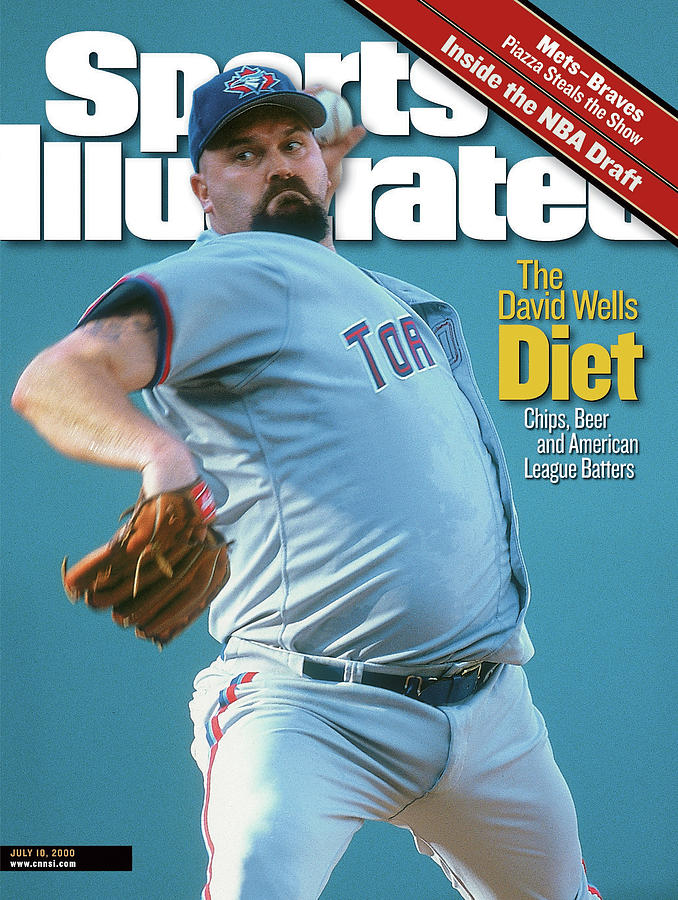 Toronto Blue Jays David Wells... Sports Illustrated Cover Photograph by Sports Illustrated