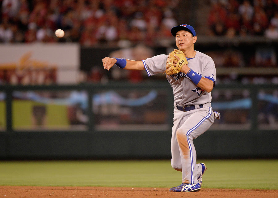 Toronto Blue Jays V Los Angeles Angels Photograph by Harry How