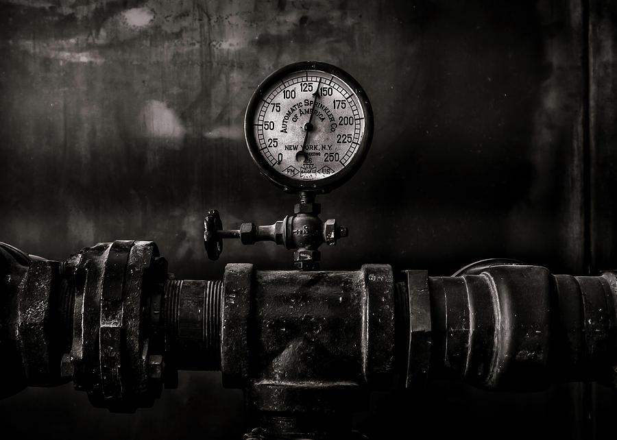 Toronto Distillery District Machinery No 1 Photograph